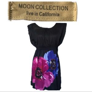 Moon Collection Knit Dress with beading detail